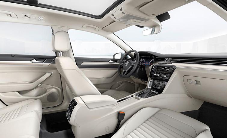салон Volkswagen Passat 2015 b8