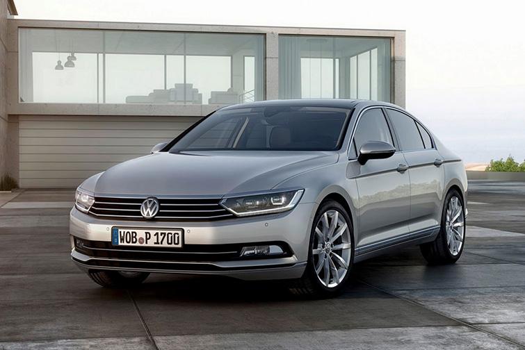 2015 Volkswagen Passat B8