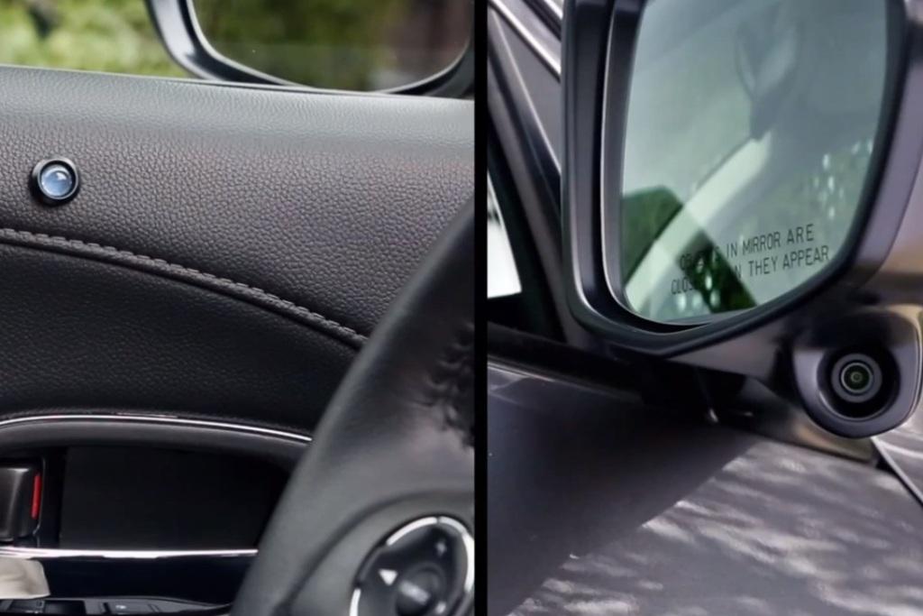 Авто оснащено дополнительными камерами