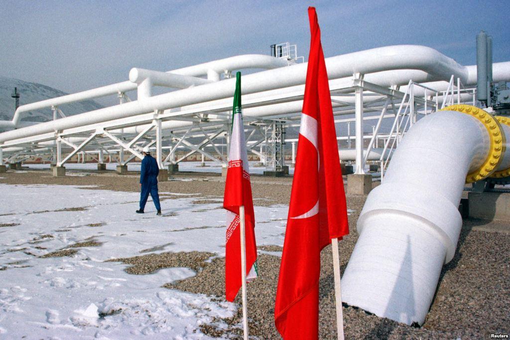 Иранский газ через Турцию