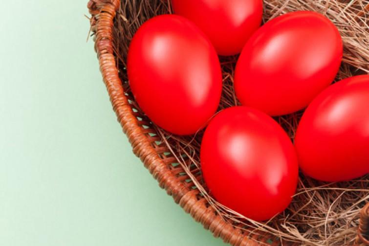 как покрасить яйца свекольным соком