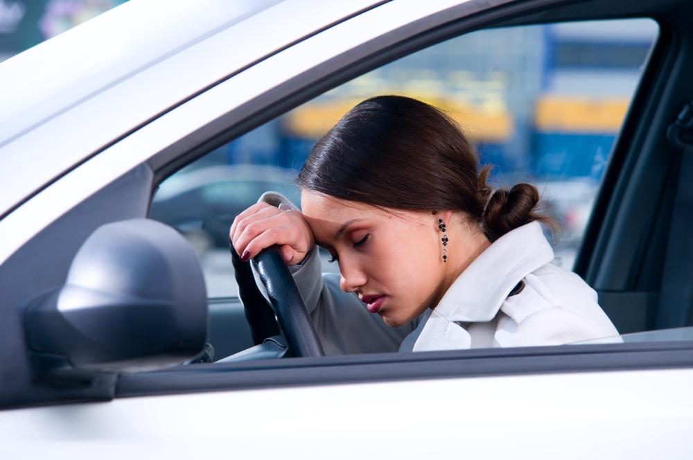 Тревожный меланхолик за рулем
