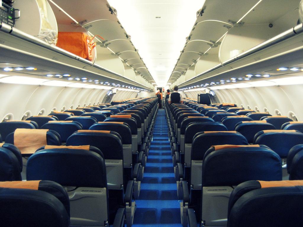 Места в салоне самолета