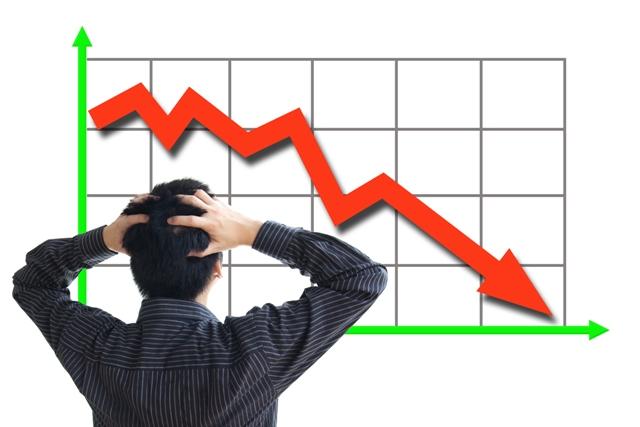 Спад экономики в Украине