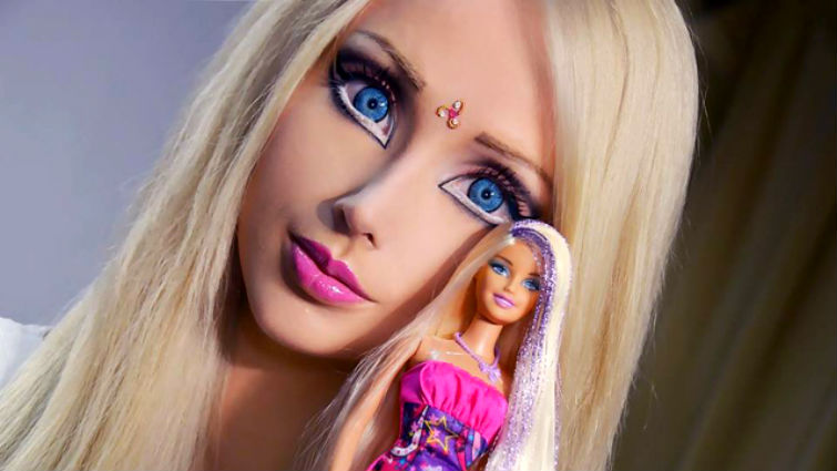 живая кукла Валерия Лукьянович