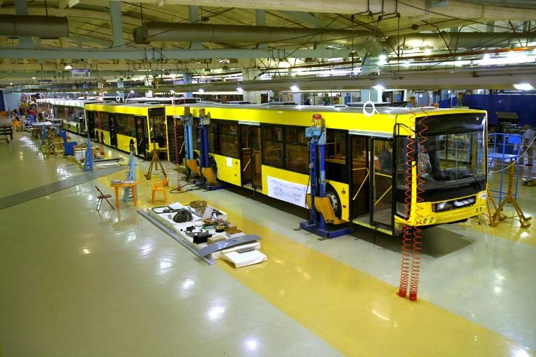 Производство автобусов