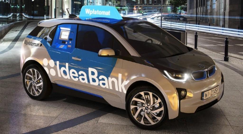 Мобильный банкомат BMW i3