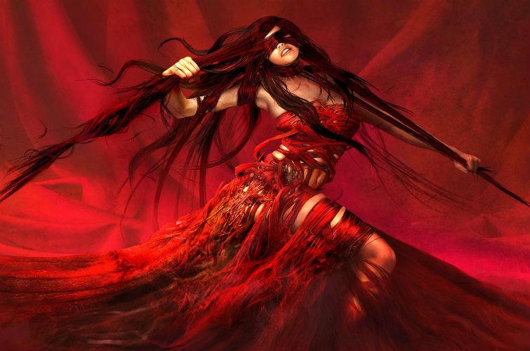 Красная Леди