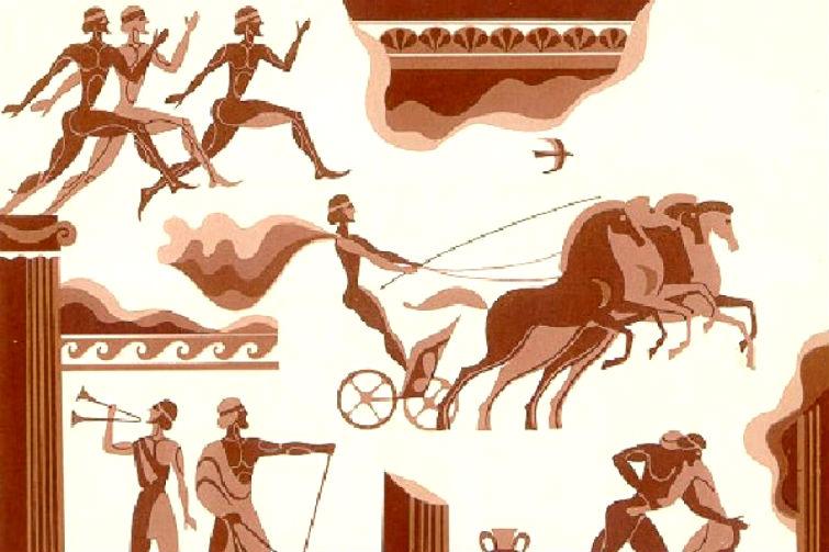 как проходили первые Олимпийские игры