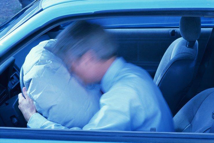 неисправность подушек безопасности