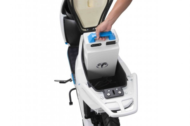 Электроаккумулятор для скутера