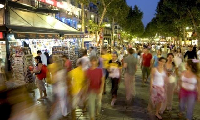 Ограничение скорости движения пешеходов