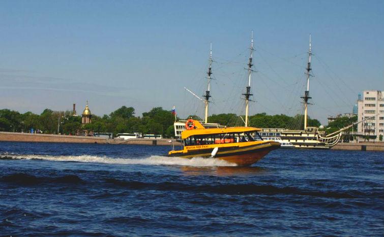 водное такси в России
