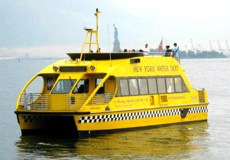 водное такси за рубежом