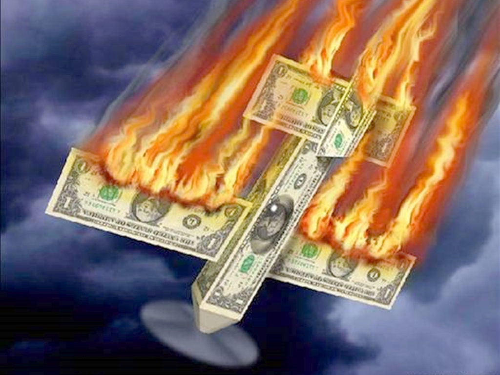Крутое пике экономики США
