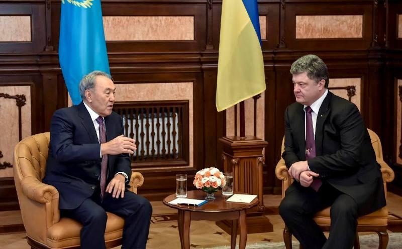 Переговоры между Казахстаном и Украиной
