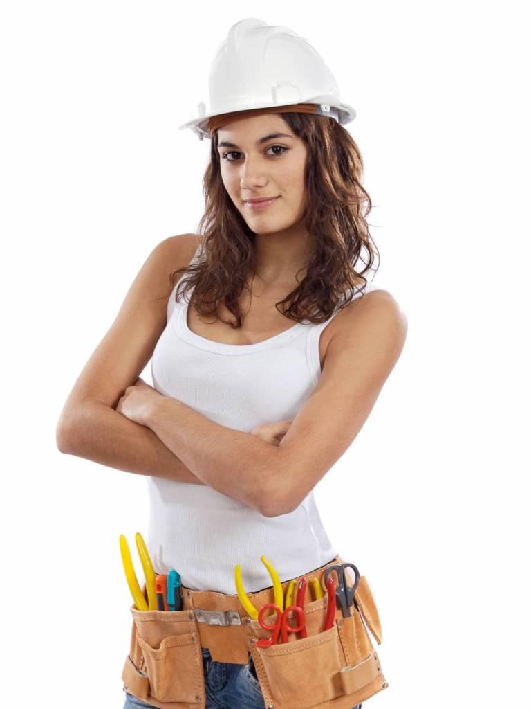 Женщины-ремонтники