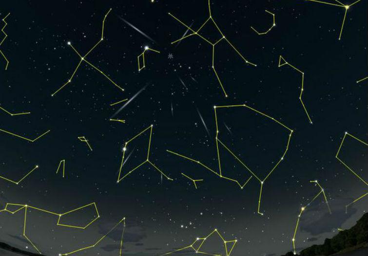 метеоритный дождь Лириды
