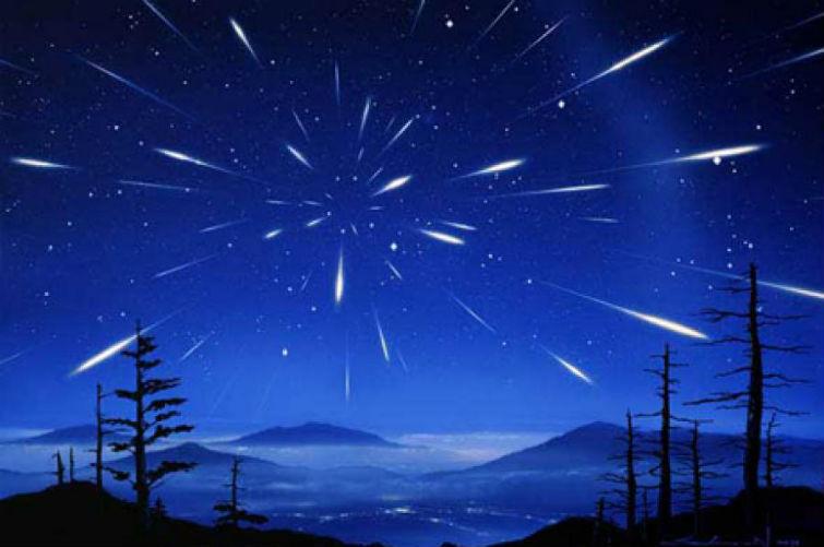 метеоритный дождь 2015