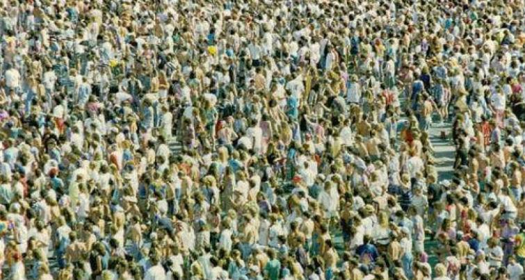 рост численности людей