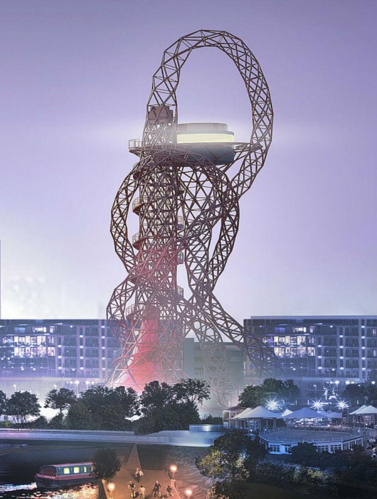 самая большая скульптура в Лондоне