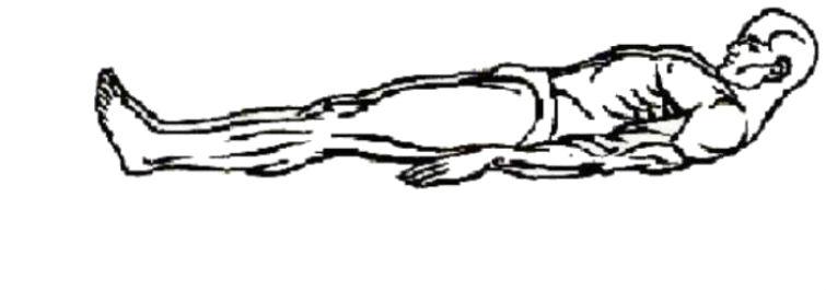 тибетское упражнение 2