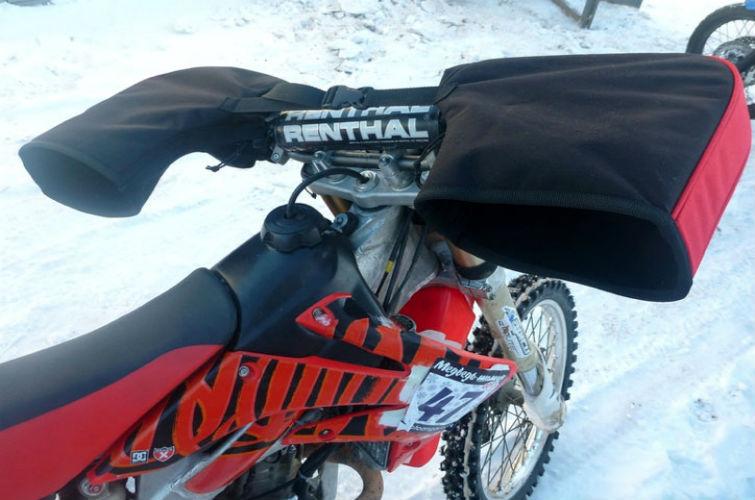 езда на мотоцикле зимой