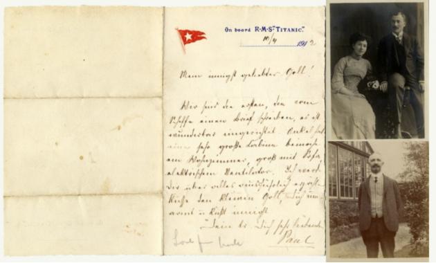 Возвращение Титаника - первое письмо с затонувшего лайнера