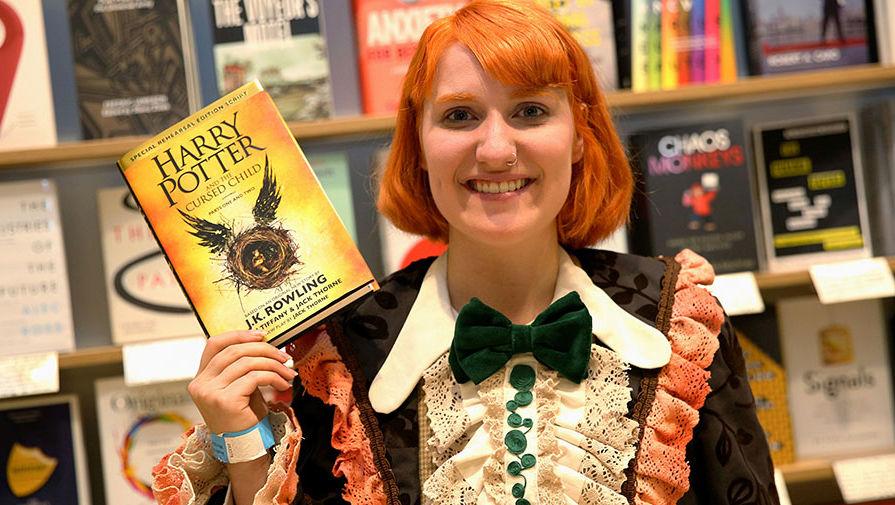 Новая книга о Гарри Поттере уже вышла в Великобритании
