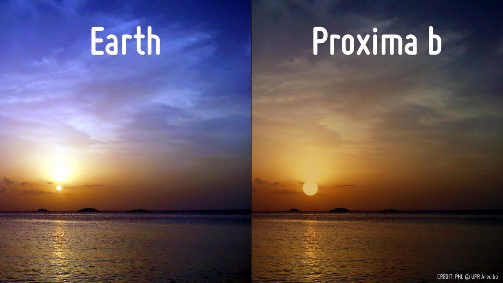 Планета похожая на Землю Проксима