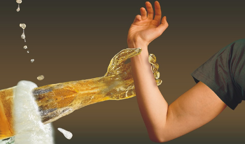 Борьба с алкоголизмом путем массажа