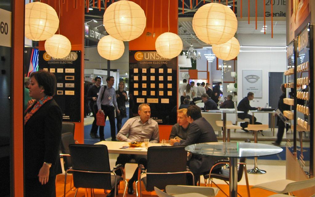 Международная выставка света в Москве
