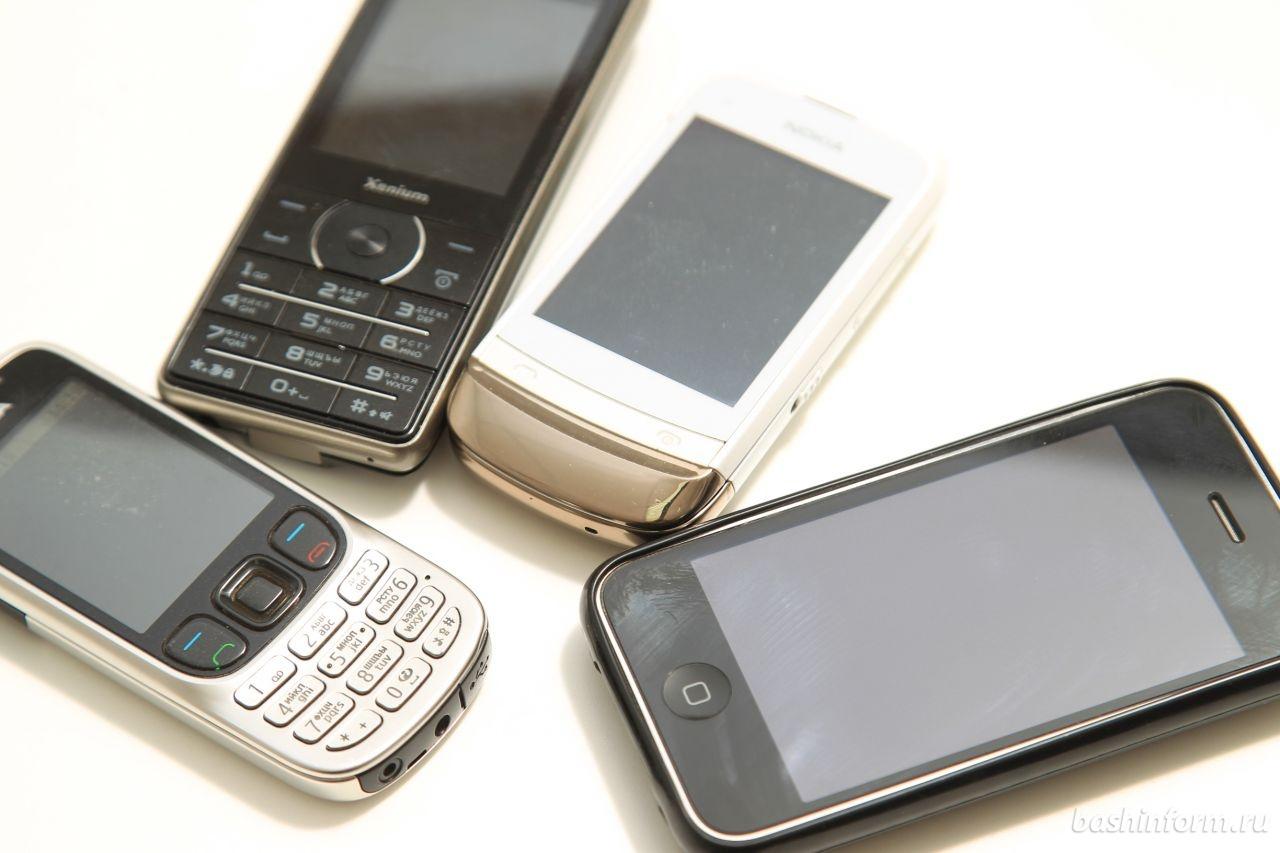 Исследование мобильных телефонов в Калифорнии