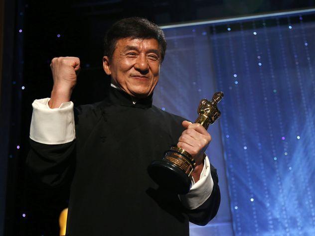 Актер Джеки Чан получил премию Оскар
