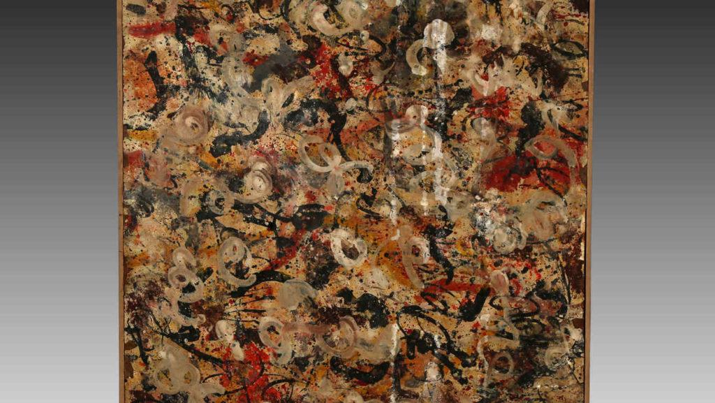 Неизвестная картина Джексона Поллока