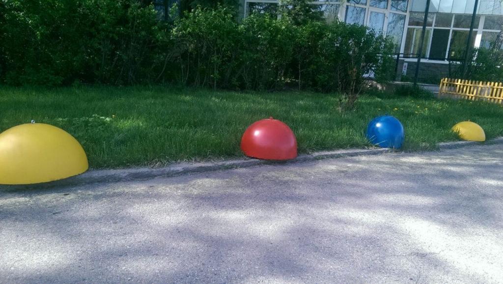 Выбираем парковочные полусферы
