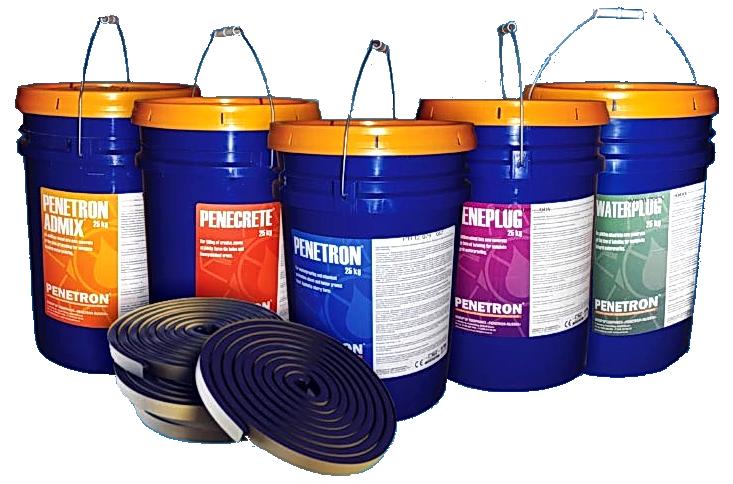 Гидроизоляционный материал Пенетрон для бетонных конструкций