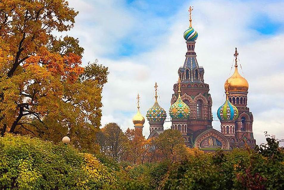Чем хороша осень в Петербурге