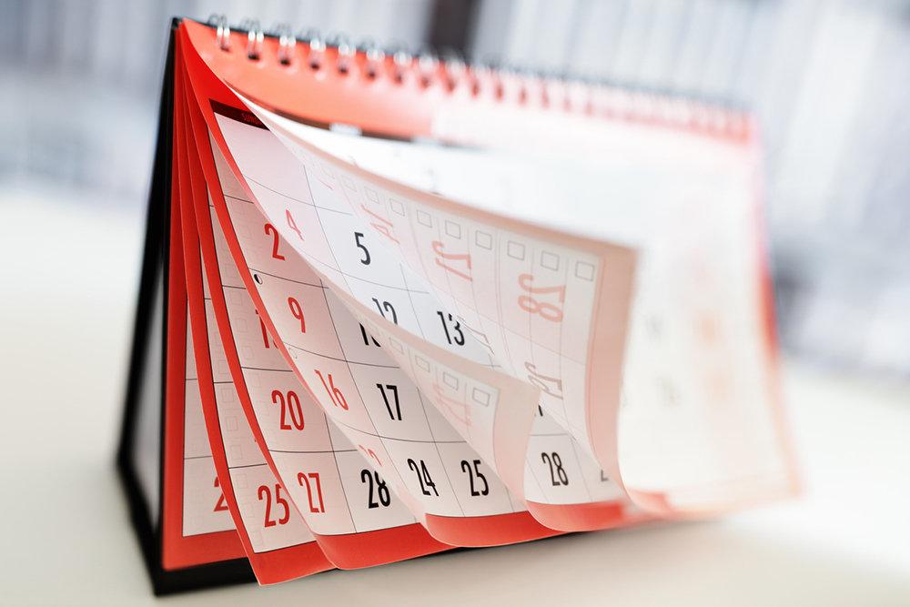 Утвержден календарь праздников 2020 года