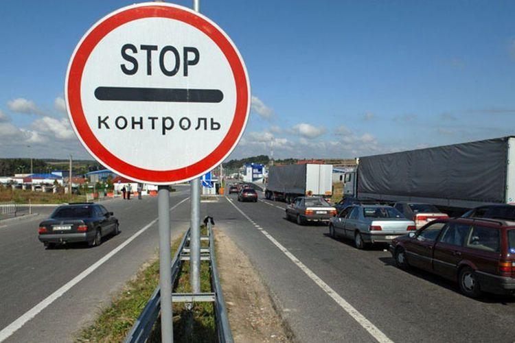 на машине в украину